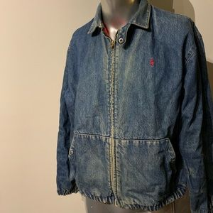 Vintage polo denim jacket made in the USA